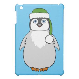 Baby Penguin with Green Santa Hat iPad Mini Case