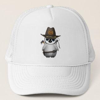 Baby Penguin Zombie Hunter Trucker Hat