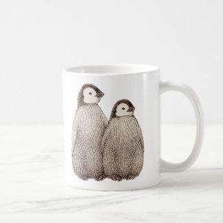 Baby Penquin Brothers Mug