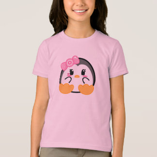 Baby Penquin - Girl T-shirt