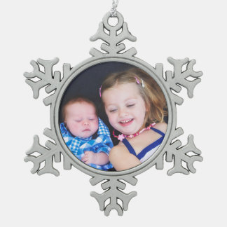 Baby Photo Personalized Christmas Ornament