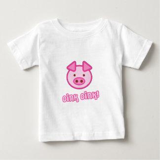 Baby Pig Cartoon Baby T-Shirt