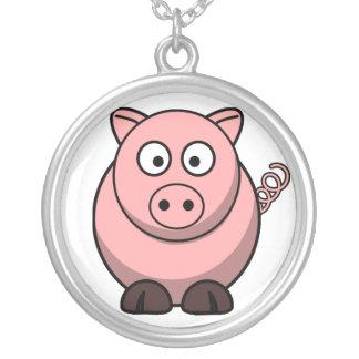 Baby Pig Cartoon Necklace