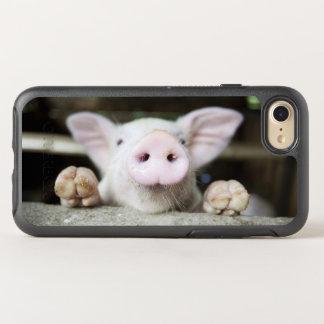 Baby Pig in Pen, Piglet OtterBox Symmetry iPhone 7 Case