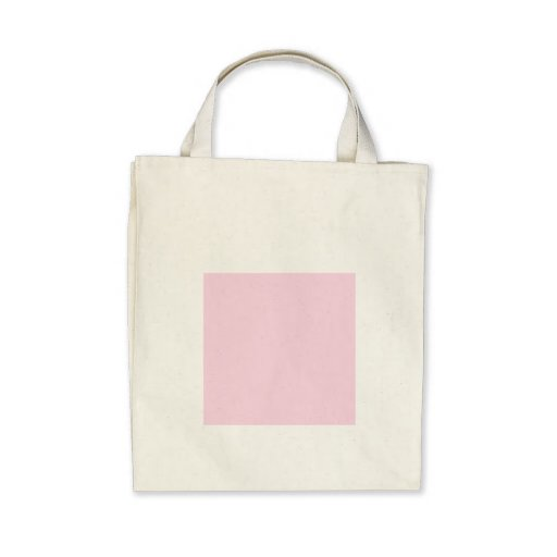 Baby pink canvas bags
