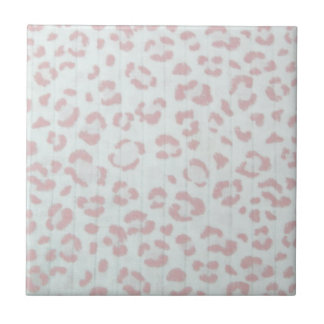 baby pink cheetah animal jungle print tile