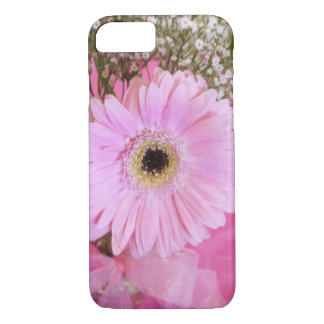 Baby pink daisy floral iPhone 8/7 case