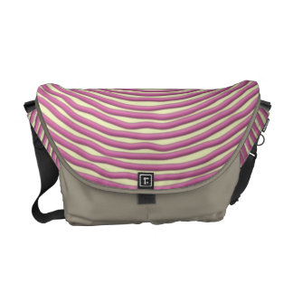 Baby Pink Hand Drawn Circles Commuter Bags