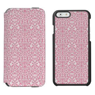 Baby Pink Kawaii Damask Incipio Watson™ iPhone 6 Wallet Case