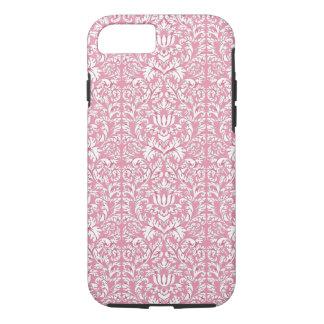 Baby Pink Kawaii Damask iPhone 8/7 Case