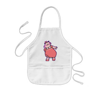 Baby Pink! Kids Apron