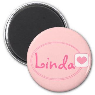 baby pink name magnet