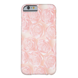 Baby Pink Roses Barely There iPhone 6 Case