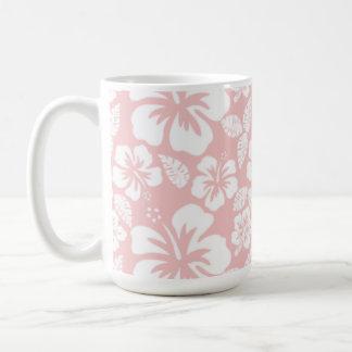 Baby Pink Tropical Hibiscus Mug