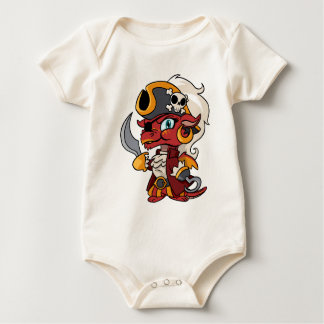 Baby Pirate Dragon Baby Bodysuit
