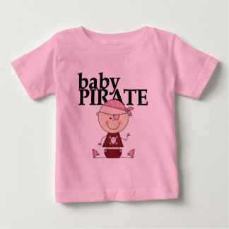 Baby Pirate - Girl Tshirts and Gifts