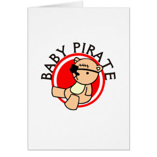 Baby Pirate T-shirts and Gifts Card
