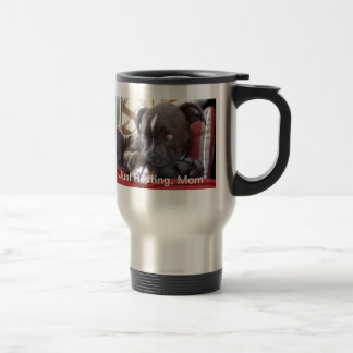 Baby Pitbull Puppy Travel Mug