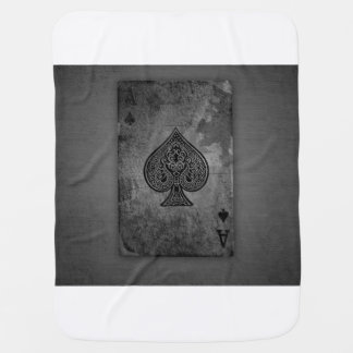 Baby playing card buggy blankets