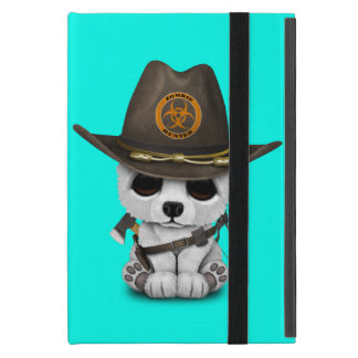 Baby Polar Bear Zombie Hunter Cover For iPad Mini