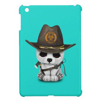 Baby Polar Bear Zombie Hunter iPad Mini Covers