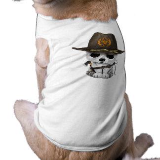 Baby Polar Bear Zombie Hunter Shirt