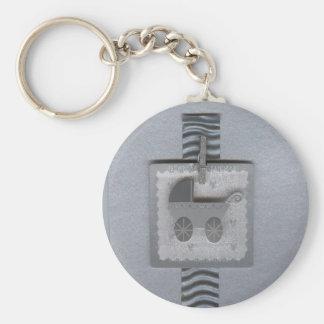 Baby Pram Buggy Keychain