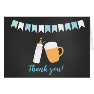Baby Q Barbecue Co Ed Baby Shower Thank you note