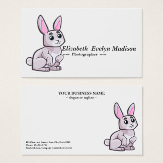 baby rabbit 879 business card