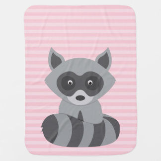 Baby Raccoon Baby Blanket