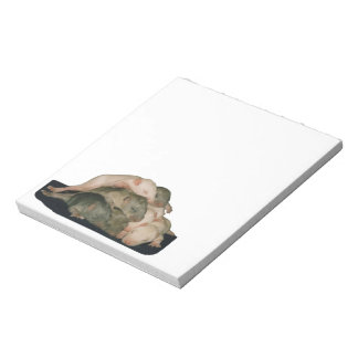 baby rat pile notepad