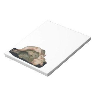 baby rat pile notepad