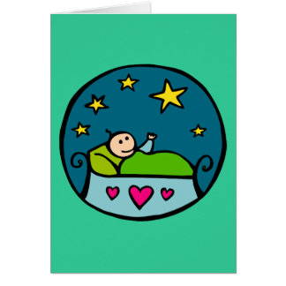 Baby Reaching for the Stars Cards