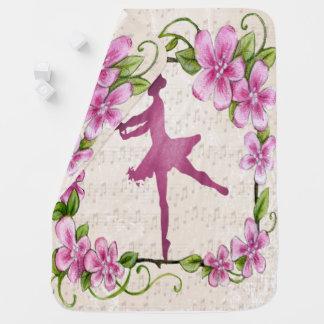 Baby Receiving Blanket dancing ballerina
