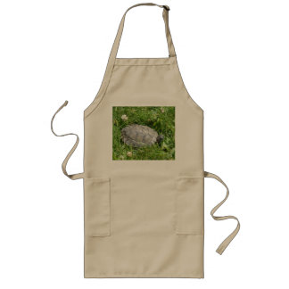 Baby Red Eared Slider Turtle Long Apron
