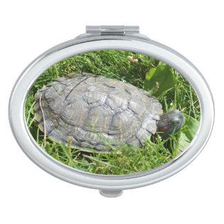 Baby Red Eared Slider Turtle Vanity Mirrors