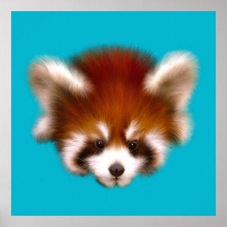 Baby Red Panda Poster
