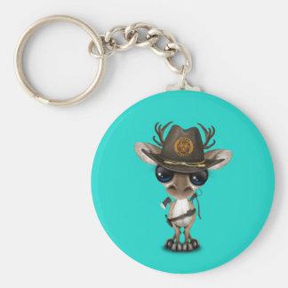 Baby Reindeer Zombie Hunter Key Ring