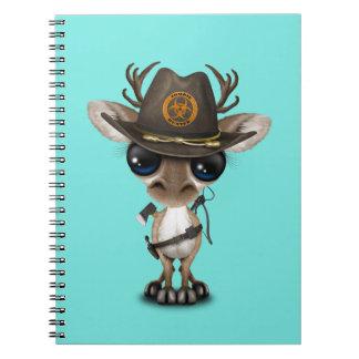 Baby Reindeer Zombie Hunter Notebooks