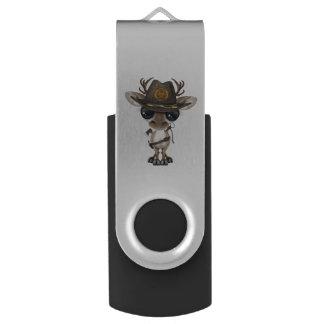Baby Reindeer Zombie Hunter USB Flash Drive