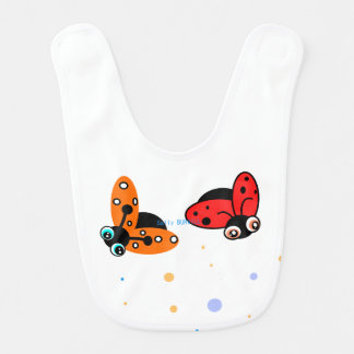 Baby Rib - Lady Bugs Bibs