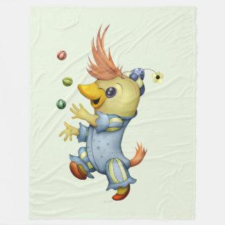 BABY RIUS CARTOON Fleece Blanket, LARGE