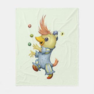 BABY RIUS CARTOON Fleece Blanket, MEDIUM