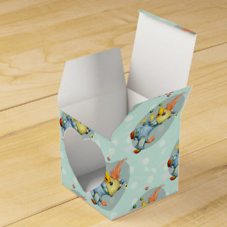 BABY RIUS CARTOON Heart 2x2 Favor Box