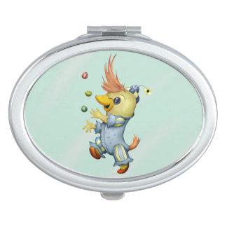BABY RIUS CARTOON Oval compact mirror