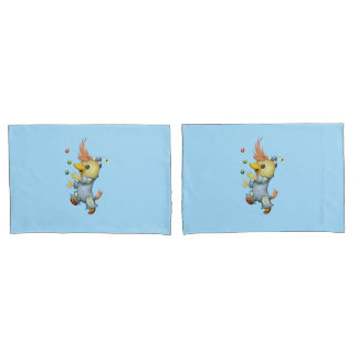 BABY RIUS CARTOON Pair Pillowcases STANDARD