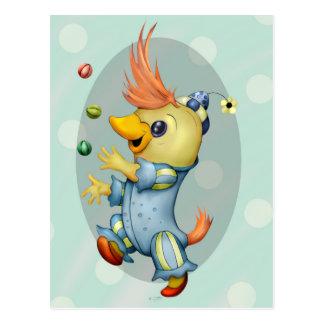 BABY RIUS CARTOON postcard Semi-Gloss