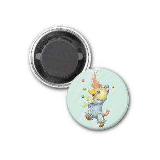 BABY RIUS CARTOON  Round Magnet small