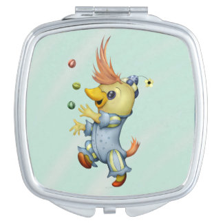 BABY RIUS CARTOON Square compact mirror