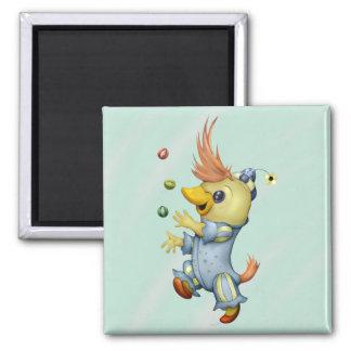 BABY RIUS CARTOON  Square Magnet 2 Inch